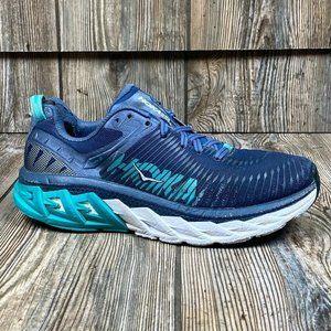 Hoka One One Arahi Running Shoes Blue 1019276 Sz 8